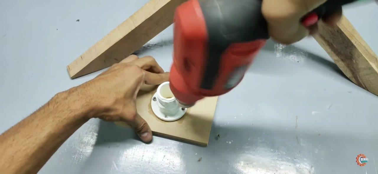 Powerful DIY desktop fan
