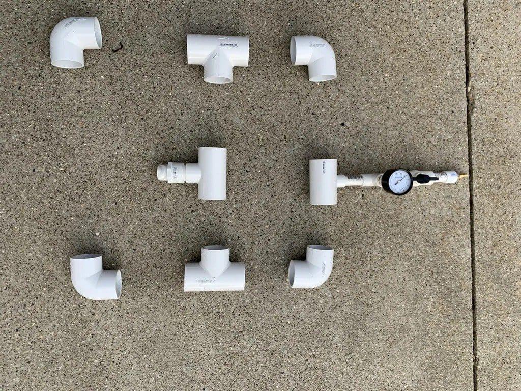 Пневматическая «пушка» для запуска различных предметов от игрушек до конфет