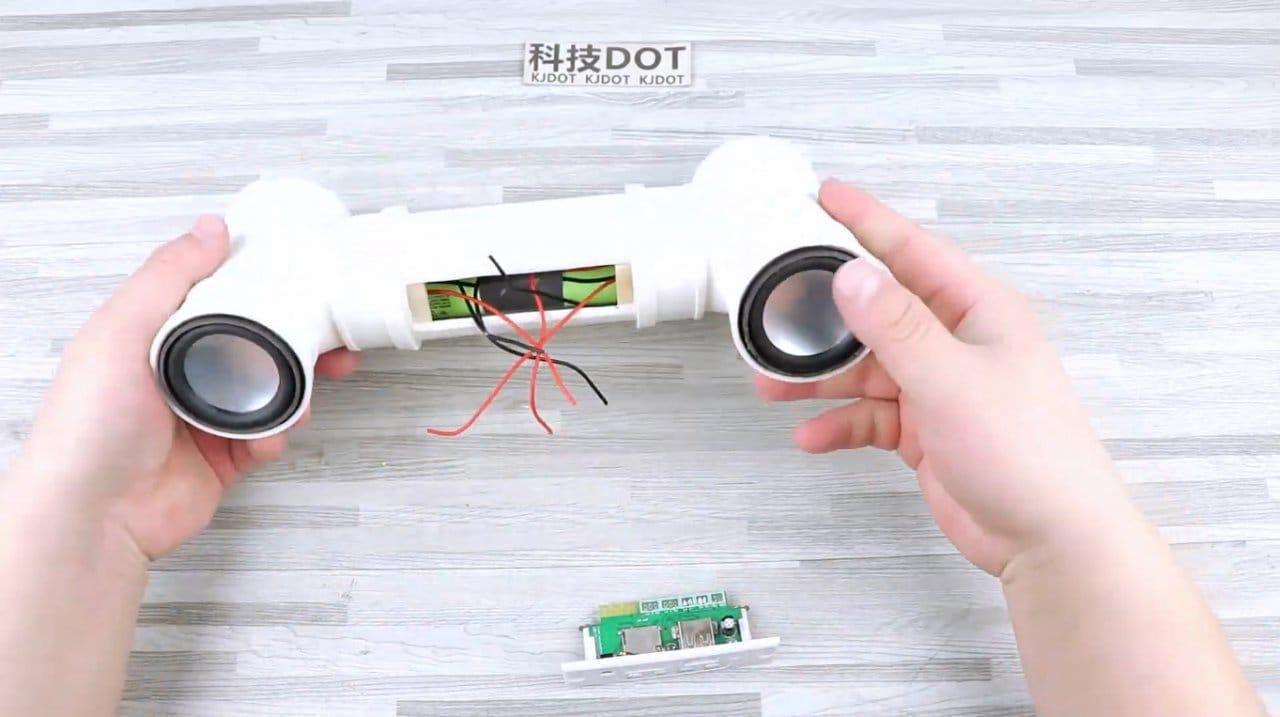 Делаем простую Bluetooth колонку из пластиковых труб