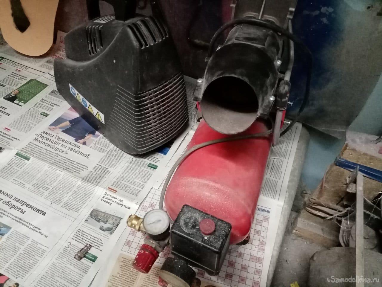 Replacing the compressor belt