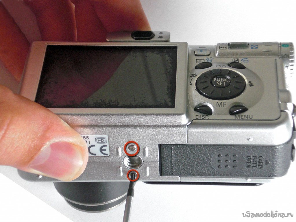 Canon PowerShot S80 Rolled Lens Repair