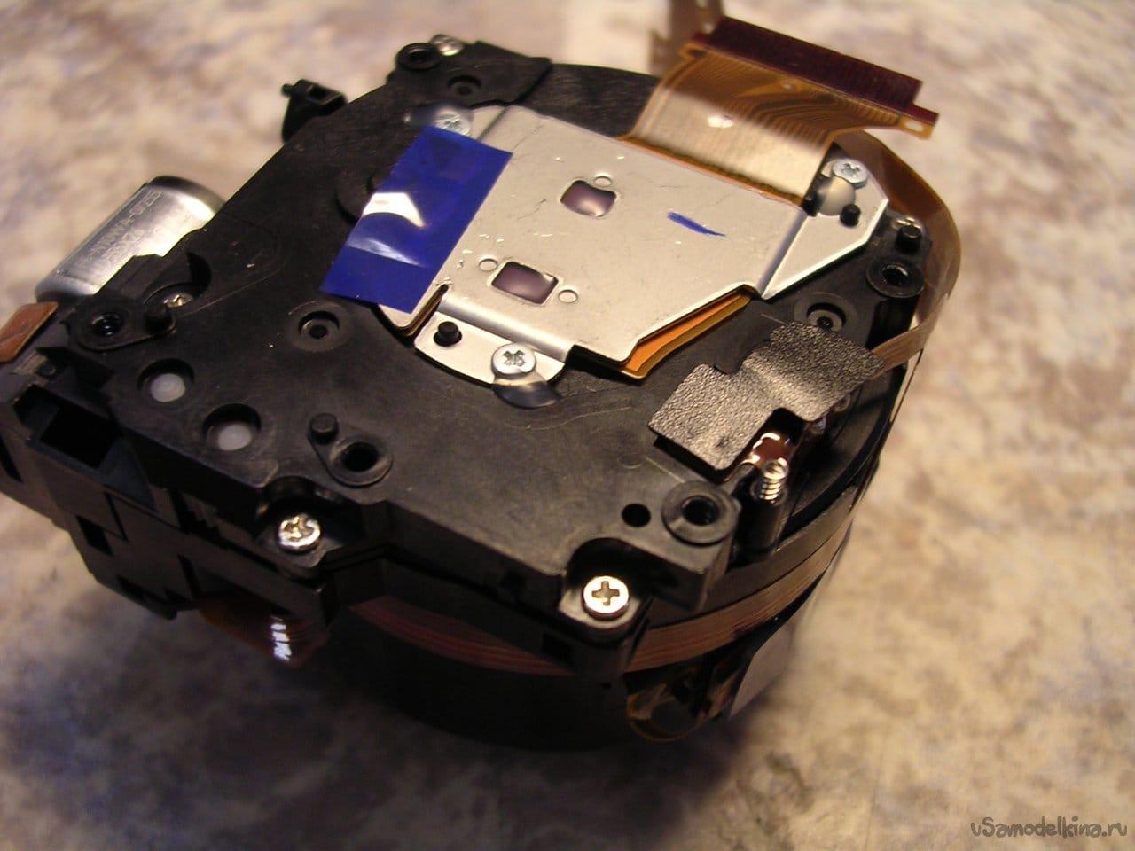 Canon PowerShot S80 collapsed lens repair