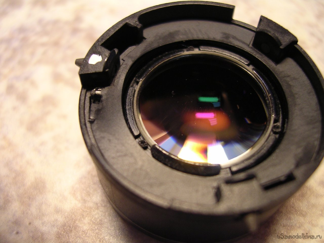 Rolled lens repair for Canon PowerShot S80