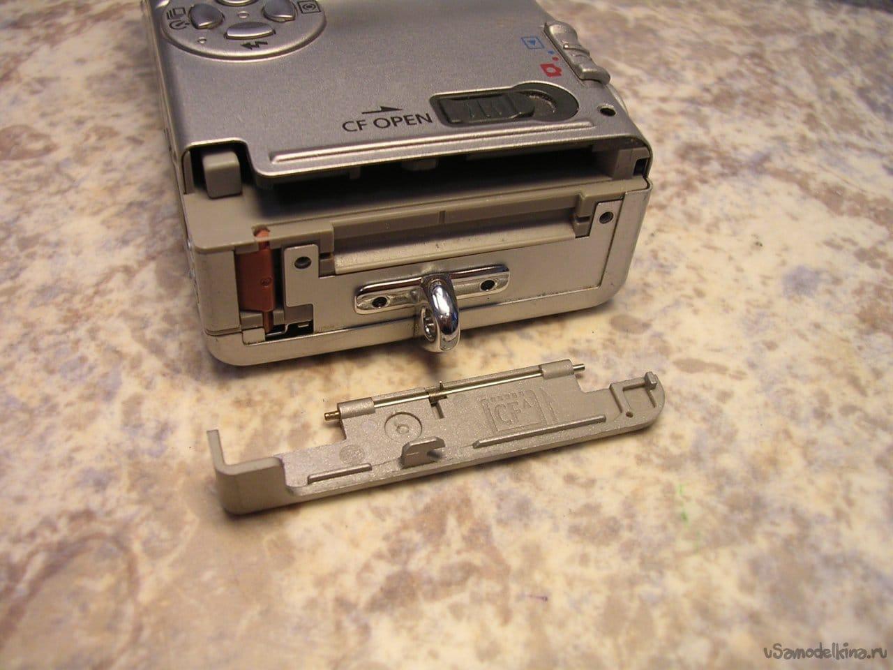 CANON IXUS 400 camera with 'growl'