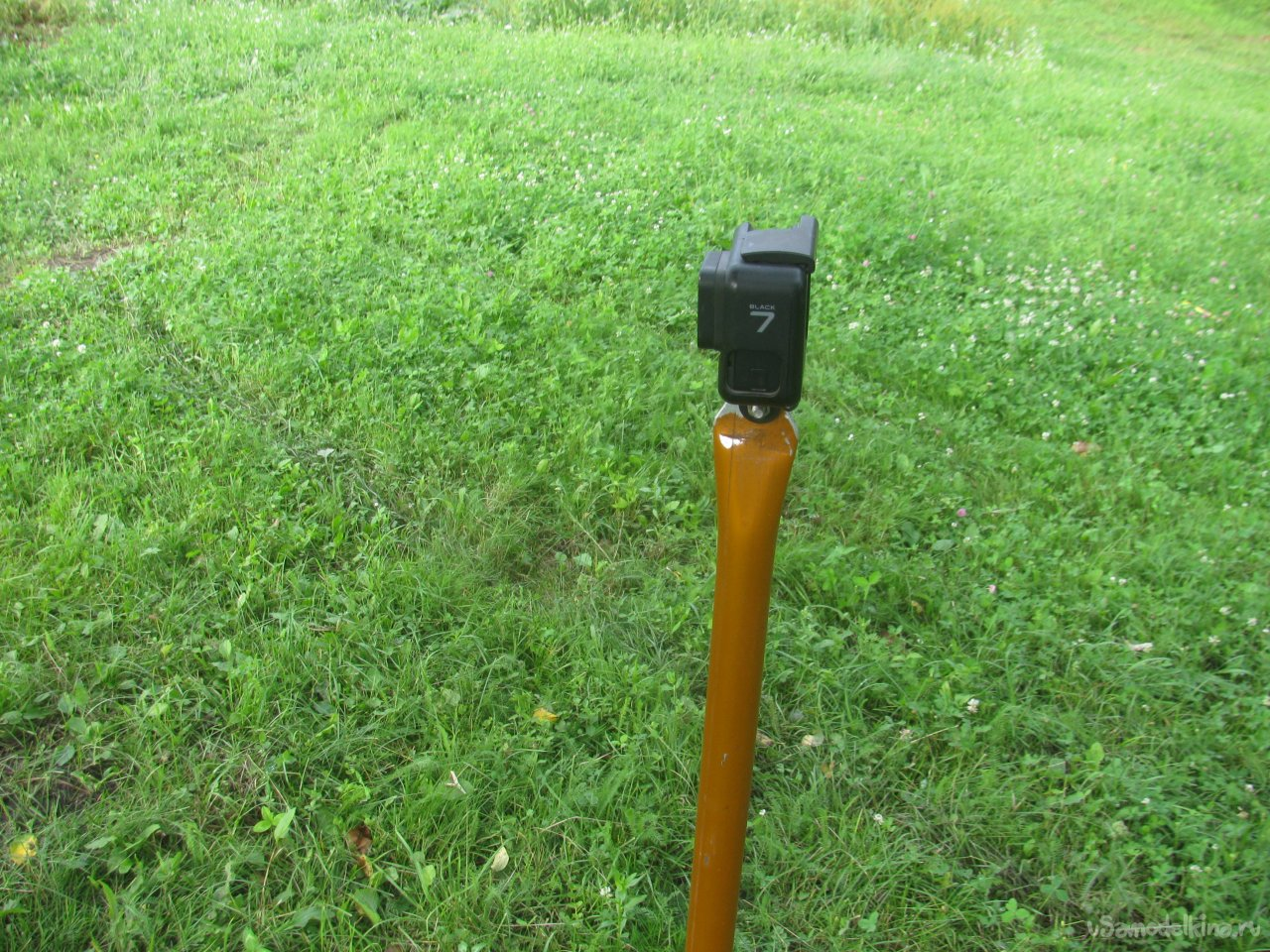 Well, a very simple tripod/stand for GoPro