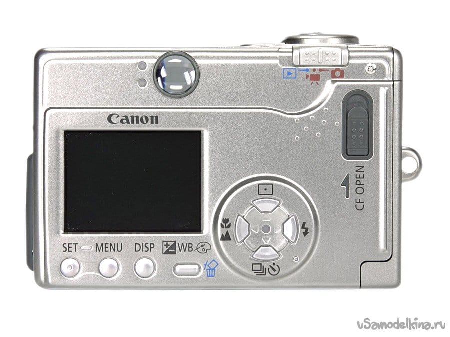 Very fast repair of CANON ixus V3 camera