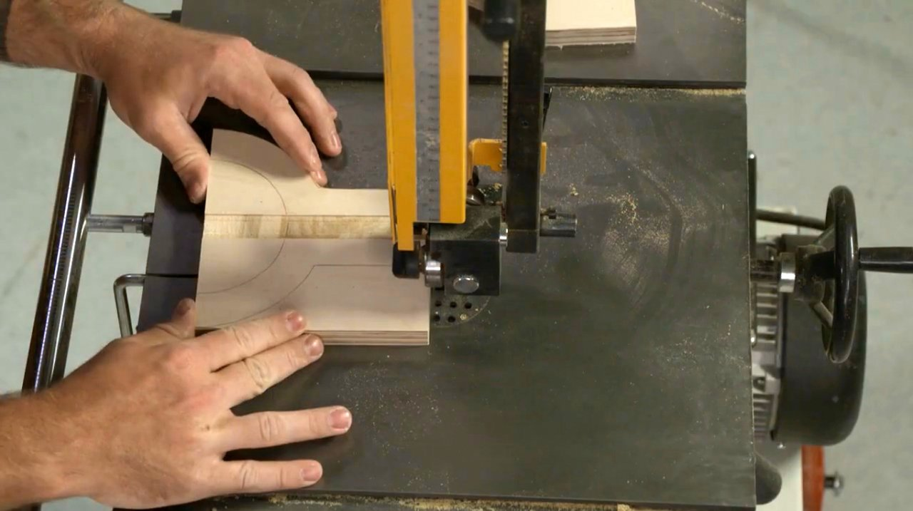 How to make a simple height meter (milling cutters and saw blades)