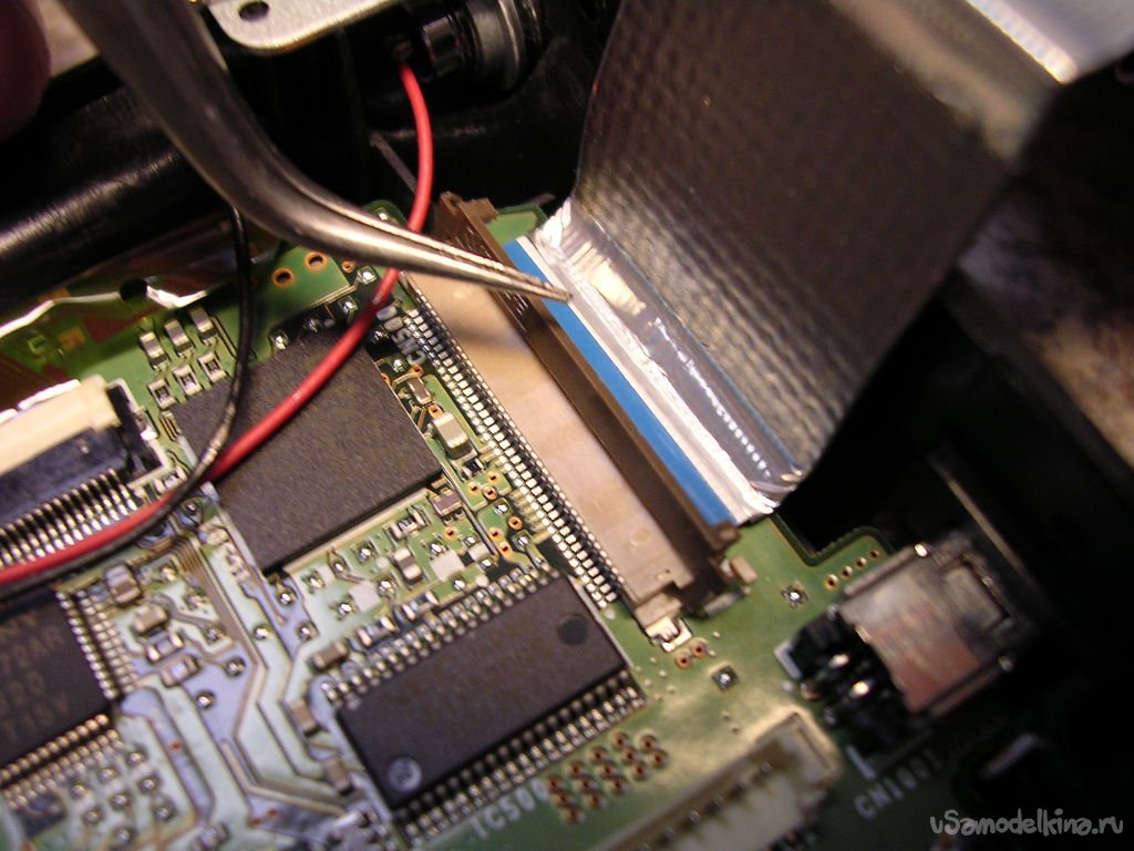 A task for a psychic. Repair of the FUJI FinePix S2Pro camera