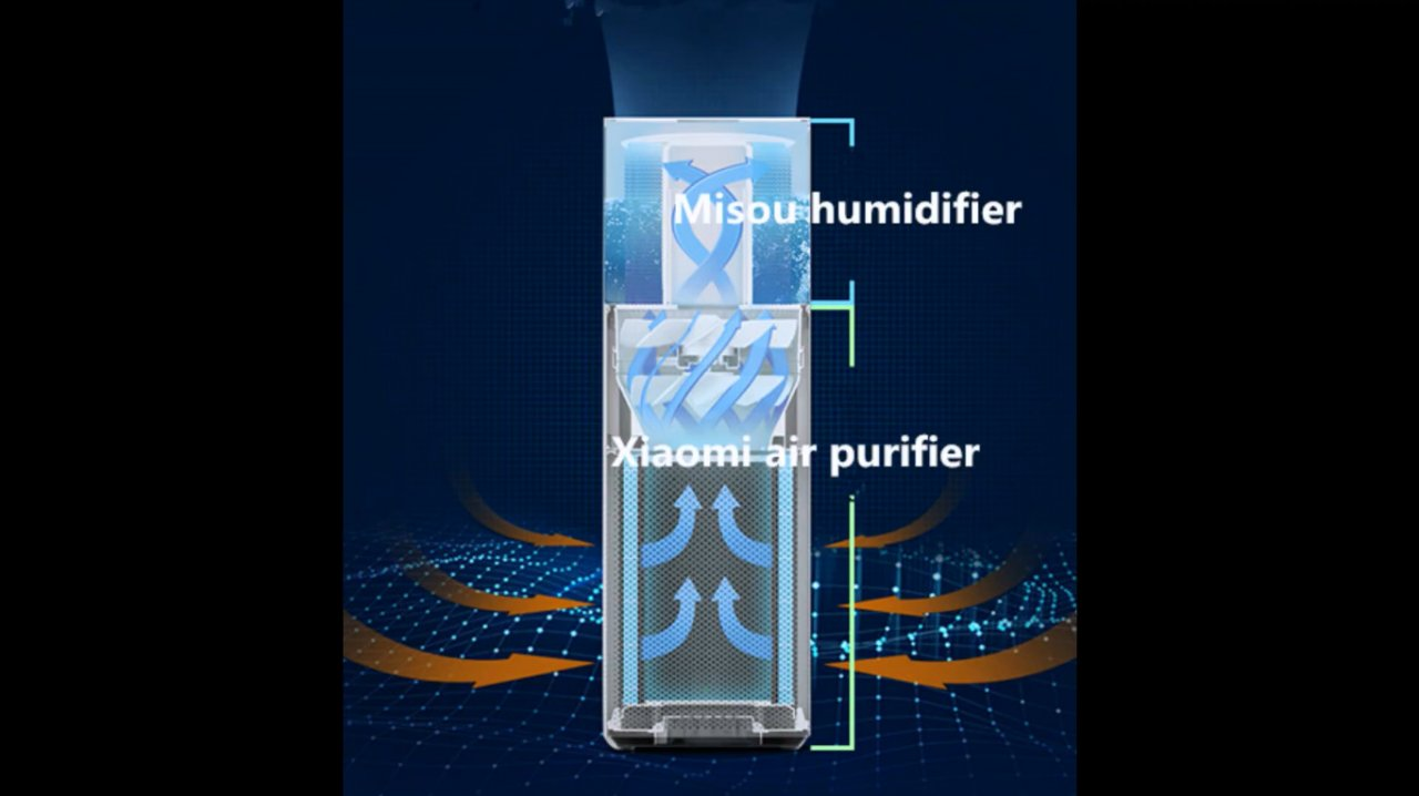 Making a combined humidifier and air purifier