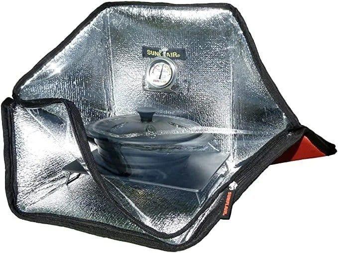 Solar multicooker