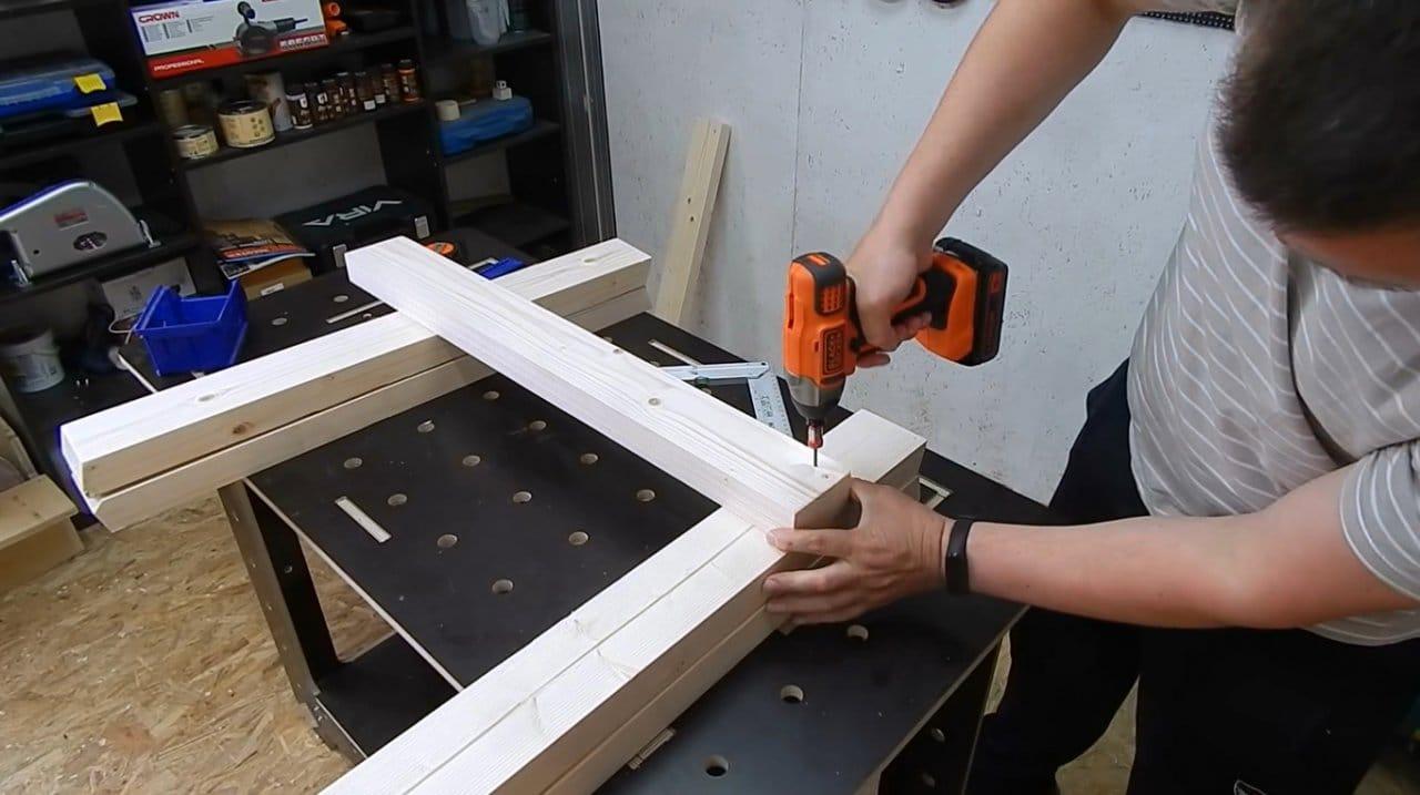 DIY folding joinery trestles