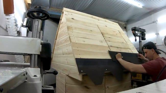 Домик для колодца своими руками